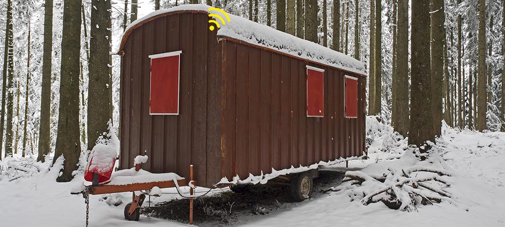 Spotmaster Assettracker Yellowspot 1 gebruik voor locatie pipowagen