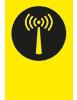 De Yellowspot 1 Assettracker zend signalen via het LoRa netwerk. Powered by KPN